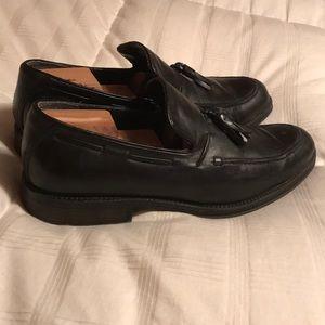 Black Dockers Dress Shoes Size 10 SEE DESCRIPTION